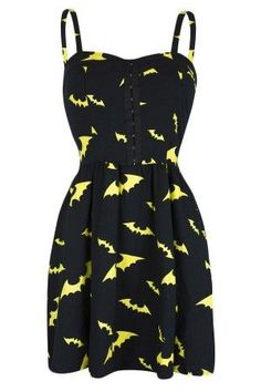 Women's Bat Dress I NEED THIS. FOR CRIME FIGHTING.