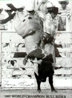 """When I gave the nod, Leroy screamed, """"Let's go, boys!"""" and the chute slammed open. The bull went crazy.  Hold on, hold on. Eight seconds seems like forever on the back of a bull. ~ from The Reluctant Cowboy http://www.amazon.com/Reluctant-Cowboy-Elizabeth-Garcia-ebook/dp/B00IU6LTGK/?qid=1394195312_encoding=UTF8ref=tmm_kin_swatch_0sr=1-1"""
