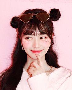 Korean Cute Makeup Tutorial - K-Beauty Inspiration Korean Makeup Look, Korean Makeup Tips, Korean Makeup Tutorials, Asian Makeup, Fitness Workouts, Cute Makeup, Makeup Looks, Clown Makeup, Sfx Makeup