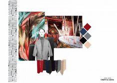 Sketchbook Layout, Textiles Sketchbook, Fashion Sketchbook, Sketchbook Inspiration, Fashion Portfolio Layout, Portfolio Design, Book Presentation, Fabric Board, Mood Colors