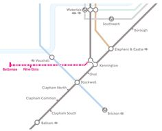 Northern Line Extension Map Transit Pinterest Extensions - Northern line map london