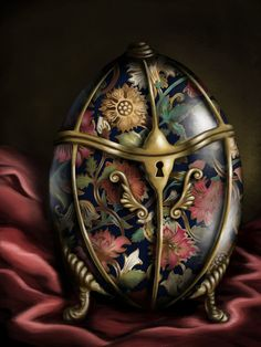 Faberge egg by Artemis