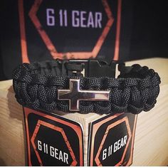 """Reposting 611 Gear: ... """"Checkout this Chaplin's cross paracord bracelet. Any color any style. Get yours at wwww.611gear.com/"""""""
