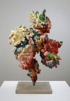 Glenn Brown Woman I 2011 oil, acrylic on fibreglass, steel 135 x 90 x 70 cm Glenn Brown, Contemporary Art Daily, Recycled Art, Art Plastique, New Artists, Installation Art, Ceramic Art, Sculpture Art, Art Inspo