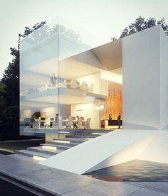 """#architecture_hunter Evian Gate, in Evian, France. By Creato Arquitectos @creatoarquitectos"""
