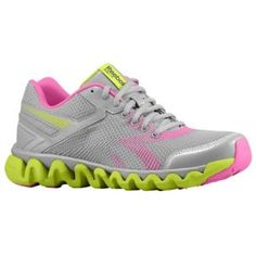Reebok ZigLite Electrify - Women's - Running - Shoes - Tin Grey/Charge Green/Dynamic Pink/Pure Silver...more runnable ZigTech's!