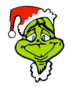 image result for grinch clipart free printables christmas rh pinterest com grinch clip art easy grinch clip art black and white