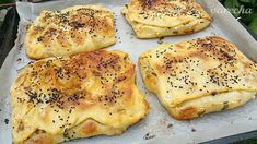 Börek z tenučkého cesta (videorecept) - recept | Varecha.sk Prepped Lunches, Turkish Recipes, Quiche, French Toast, Treats, Cooking, Breakfast, Food, Martha Stewart