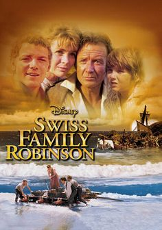 The Swiss Family Robinson (1960) A Swiss family must survive being shipwrecked on a deserted island. John Mills, Dorothy McGuire, James MacArthur...family