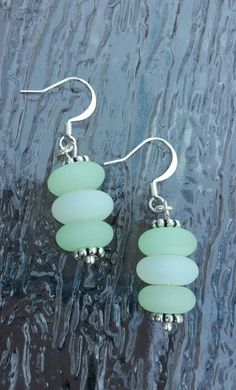 Check out this item in my Etsy shop https://www.etsy.com/listing/241234688/sea-glass-earrings-sea-foam-green-and