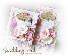 Pick Your Fave! Debutante and Garden Fable Prima blog - 6/29/15 Wedding cards