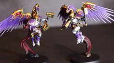 Warhammer: Age of Sigmar Stormcast Eternals Prosecutors Purple and silver paint scheme
