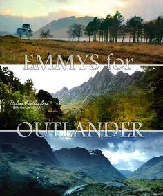 ...and for Scotland #EmmysForOutlander