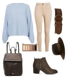 NYC by d-regina-f-r on Polyvore featuring polyvore, moda, style, Rodebjer, Office, Jérôme Dreyfuss, Nine West, Maison Michel, Urban Decay, fashion and clothing