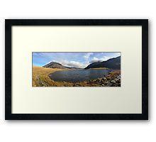 Llyn Idwal Panorama Framed Print