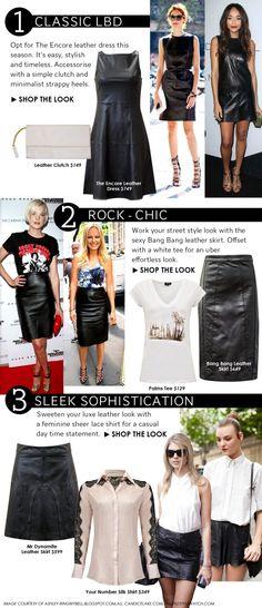 Urban Style Leather Looks