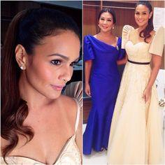 Kam Ocampo @kamocampo | Websta (Webstagram) Modern Filipiniana Gown, Filipiniana Wedding, Philippines Fashion, Philippines Culture, Wedding Themes, Wedding Gowns, Wedding Ideas, Barot Saya, Filipina Beauty