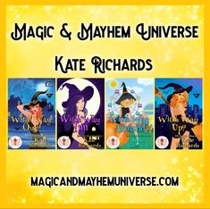 There is some crazy magical witchery going on in Kate Richards tales. Pick them all up Today! #MagicMayhemUniverse #ebook #pnr #UnleashTheMagic #MMUSeries #paranormal #author #reading