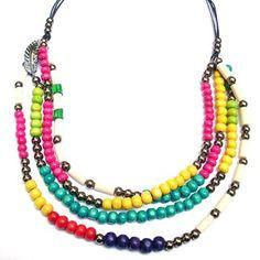 Collar Corto de Colores