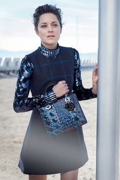 Marion Cotillard for 'Lady Dior' Pre-Fall 2015 by Peter Lindbergh