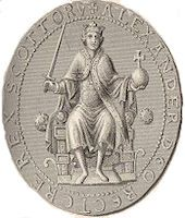 King Alexander I of Scotland The earliest known Scottish coins date from his reign.
