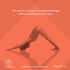 You are in a constant energy exchange with everything around you.