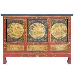 Chinese Tibetan Credenza