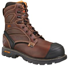 Thorogood has been providing quality work, uniform, and fire footwear since 1892. They are a leading manufacturer in engineering footwear safety and comfort. These tumbled oiled leather boots feature