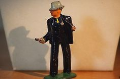 Vintage Barclay Manoil Lead Figure Toy 623 Detective with Pistol | eBay
