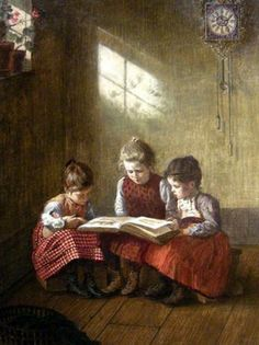 walter-firle-1859-1929-a-good-picture-book