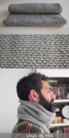 Louis et Moi (cosen y hacen crochet) Crochet Men, Crochet Cowls, Cowl Scarf, Hats For Men, Cool Outfits, Knitting, Scarfs, Wraps, Craft Ideas