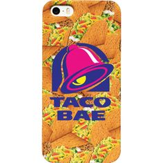 Taco Bae Phone Case ❤ liked on Polyvore featuring accessories, tech accessories, phone cases and phone