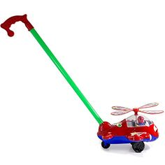 Toddler Push And Pull Airplane Toy - Colors May Vary ** Review more details @