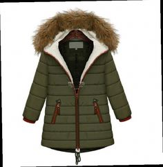 46.54$  Buy here - http://aliu91.worldwells.pw/go.php?t=32232583638 - NEW 2015 Europe women winter jacket faux fur collar cotton-padded warm coat wide-waist medium-long parkas Plus Size M-5XL W40 46.54$