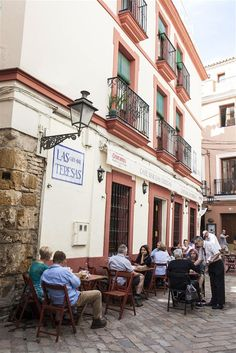 Café Bar Las Teresas is a mainstay of the Seville tapas scene Malaga, Madrid, Tapas Bar, Andalusia, Moorish, Spain Travel, Oh The Places You'll Go, Granada, Trip Planning
