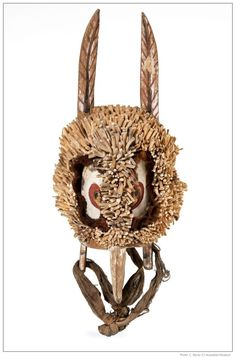 masks of new ireland | Owl head mask from Papua New Guinea - Australian Museum