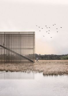 Bee Breeders Announces Winners of Pape Bird Observation Tower Competition,Third Prize. Image Courtesy of Bee Breeders