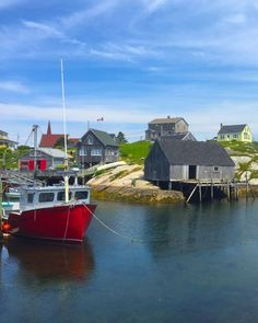peggy's cove lighthouse, nova scotia - with kids - pint size pilot Nova Scotia Tourism, Fishing Boats, Fishing Trips, Safe Harbor, Fishing Villages, Travel Images, Pictures To Paint, Vacation Spots, New England