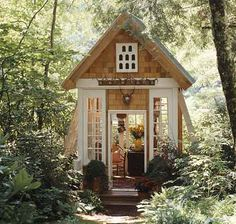 Oh, just my reading cottage in a forest clearing.