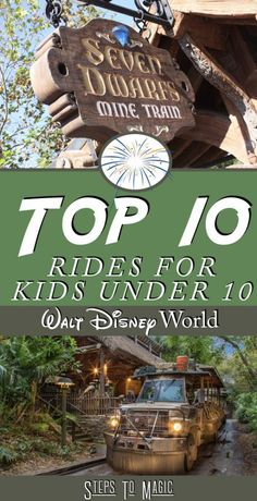When you're planning a trip to Walt Disney World for your young family, it's all about spending time together…and less about the thrills and loop-de-loops. The Top Ten Family Attractions for Kids Under 10 Number 10 – Toy Story Mania Toy Story Midway Mania is an attraction that brings the family together for a new adaptation …