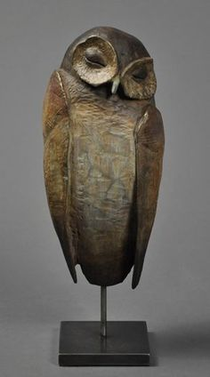 Hib Sabin ~ The Sleeper ~ Bronze - Keramik - Kunst Ceramic Birds, Ceramic Animals, Clay Animals, Ceramic Art, Pottery Sculpture, Bird Sculpture, Bronze Sculpture, Sculpture Ideas, Abstract Sculpture
