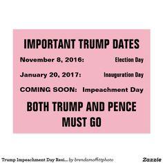 Trump Impeachment Day Resistance
