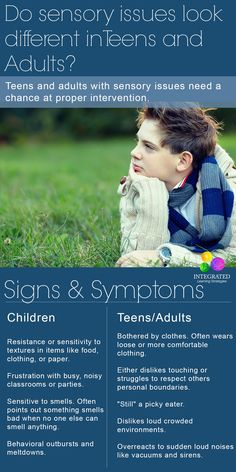 Does a Sensory Processing Disorder (SPD) Look different in Adults versus Children   ilslearningcorner.com
