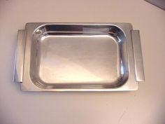 rectangular vintage Christofle dish Sabbatini Gallia range #Christofle