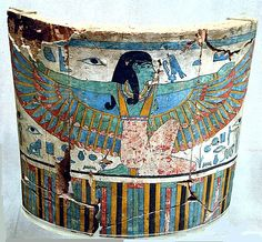 Period: Late Period, Kushite Dynasty: Dynasty 25 Date: ca. 712–664 B.C. Geography: Egypt, Upper Egypt; Thebes, el-Khokha, Tomb of Aafenmut (MMA 832), Pit 1, MMA 1914-1915 (White) Medium: Wood, gesso,