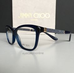 54d5eafc4b7 Jimmy Choo with strass stones on the temples ✨ Find this eyewear collection  on www.