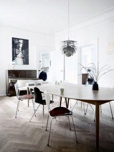 Sea of Girasoles: Interior: flat in Denmark
