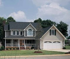 Eplans Country House Plan - Uncommonly Country - 2091 Square Feet and 4 Bedrooms from Eplans - House Plan Code HWEPL06967