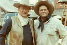 """Once on a movie location, John Wayne's double, Chuck Roberson, received a visit from his three-year old grandson. While there, the boy asked Wayne what he did. Wayne replied: """"I just stand in for your grandad on close-ups."""""""