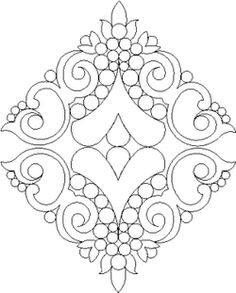 Mountain Top Quilting Studio - Shop | Category: BLOCKS | Product: 1096 VICTORIAN FANCIES DIAMOND LACE